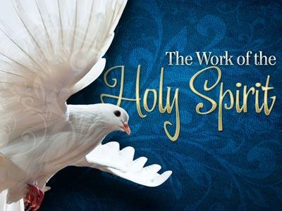 The Work of the Holy Spirit PowerPoint Template 1