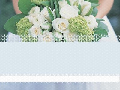 Wedding Welcome Flowers PowerPoint Template 2