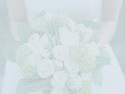 church powerpoint template: wedding welcome flowers, Powerpoint templates