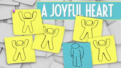 A Joyful Heart PowerPoint Template 1