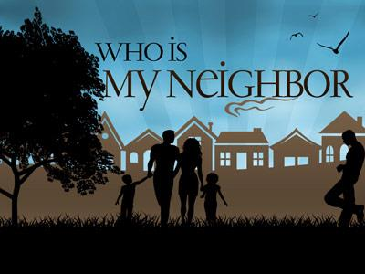 Who Is My Neighbor PowerPoint Template 1