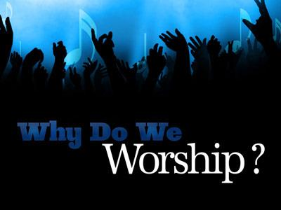 Why Do We Worship PowerPoint Template 2