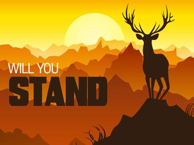 Will You Stand PowerPoint Template 1
