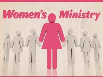 Womens Ministry Pink PowerPoint Template 1