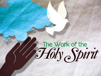 Work of the Holy Spirit PowerPoint Template 1