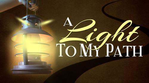 A  Light to  My  Path PowerPoint Template