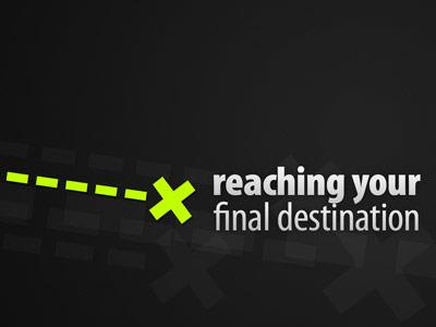 Your Final Destination PowerPoint Template 1