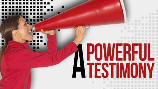 church powerpoint template  a powerful testimony