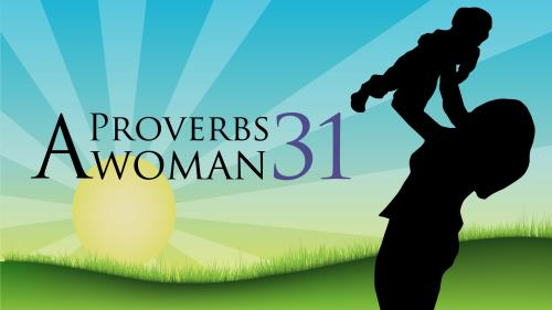 A  Proverbs 31  Woman PowerPoint Template 1