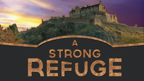 A  Strong  Refuge PowerPoint Template 1