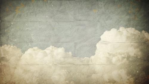 Ascension Clouds PowerPoint Template 2
