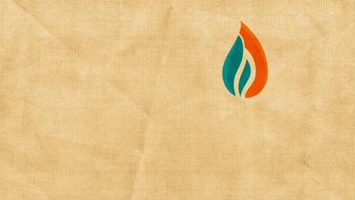 Pentecost Flame PowerPoint Template 2