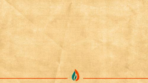 Pentecost Flame PowerPoint Template 3