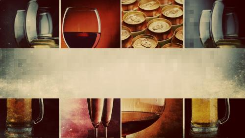 Alcohol PowerPoint Template 2