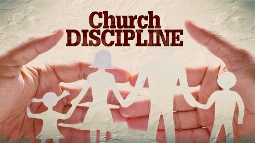 Church Discipline PowerPoint Template 1