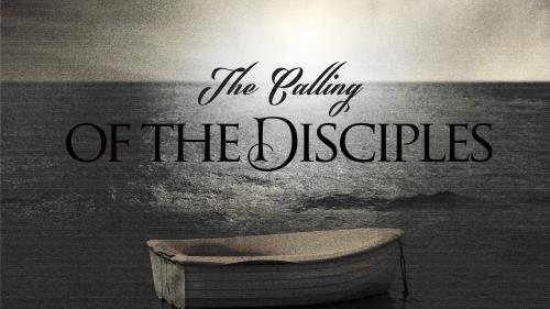 Calling of the Disciples PowerPoint Template 1