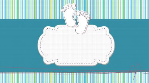 Baby Dedication PowerPoint Template