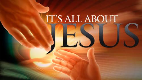 All  About  Jesus PowerPoint Template 1