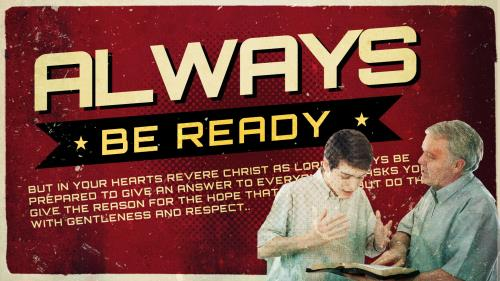 Always  Be  Ready PowerPoint Template 1