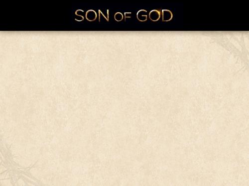 Son of God PowerPoint Template 2