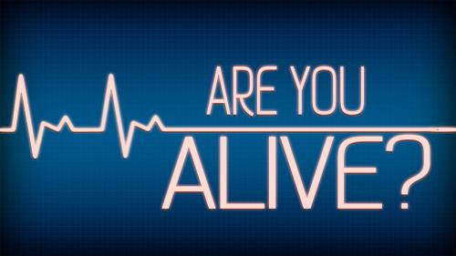 Are  You  Alive PowerPoint Template 1