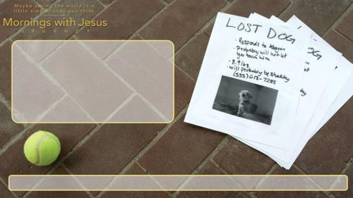 Mornings with Jesus: Urgency PowerPoint Template 7