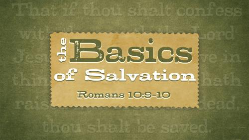 Basics of  Salvation PowerPoint Template 1