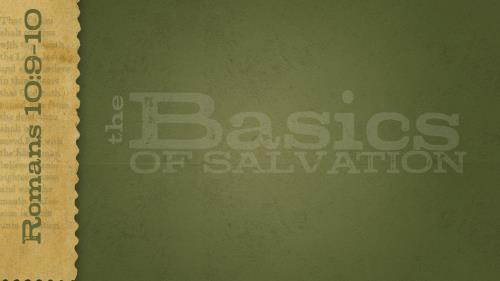 Basics of  Salvation PowerPoint Template