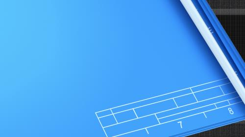 Blueprint for the  Battle PowerPoint Template 4