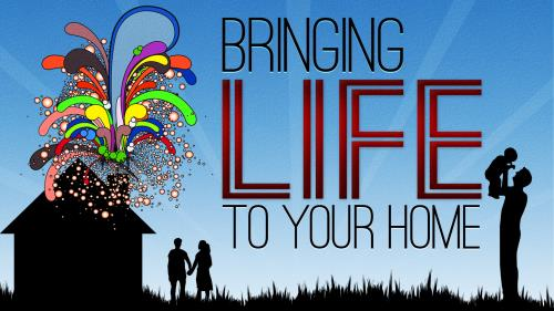 Bringing  Life to  Your  Home PowerPoint Template 1