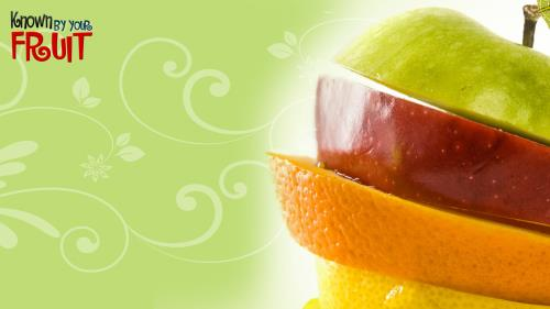 By  Your  Fruit PowerPoint Template 3