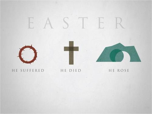 Easter Icons PowerPoint Template 1