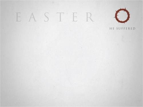 Easter Icons PowerPoint Template 2