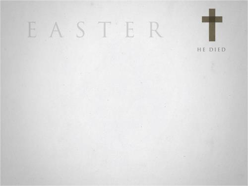 Easter Icons PowerPoint Template 3