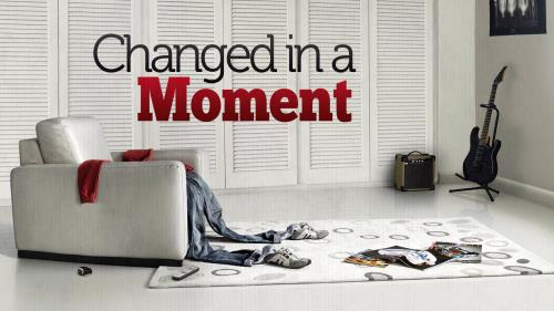 Changed in a  Moment PowerPoint Template 1
