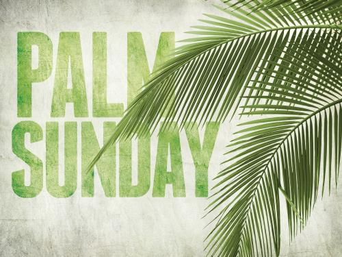 Palm Fronds PowerPoint Template 1