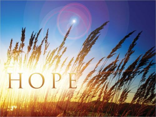Hope For Tomorrow PowerPoint Template 1