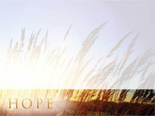 Hope For Tomorrow PowerPoint Template 2