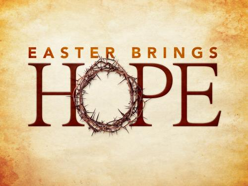 Easter Brings Hope PowerPoint Template 1