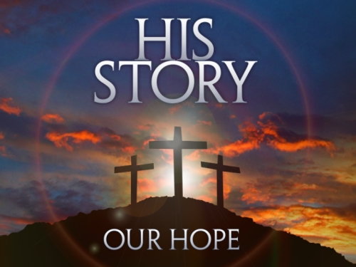 His Story Our Hope PowerPoint Template 1