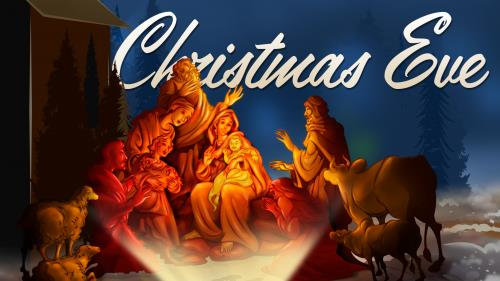 Christmas  Eve 2 PowerPoint Template 1