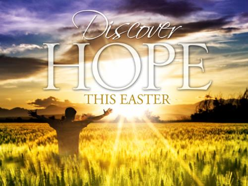Discover Hope - Easter PowerPoint Template 1