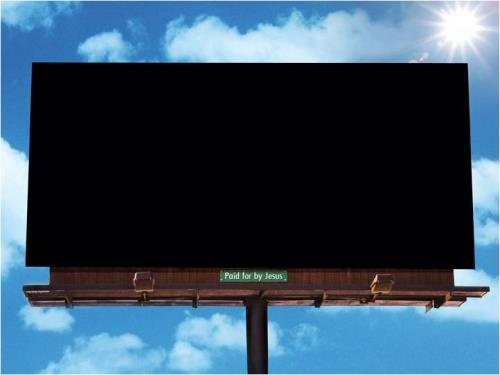 Easter Billboard PowerPoint Template 2