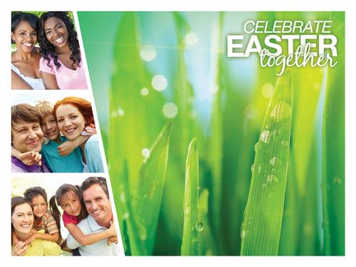 Celebrate Easter Together PowerPoint Template 2