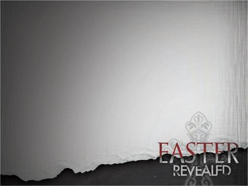 Easter Revealed PowerPoint Template 2