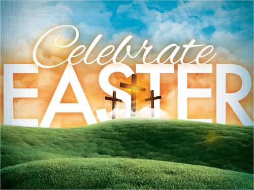 Celebrate Easter PowerPoint Template 1