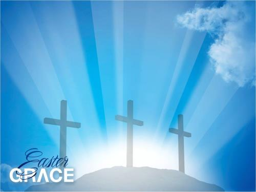 Experience Easter Grace PowerPoint Template