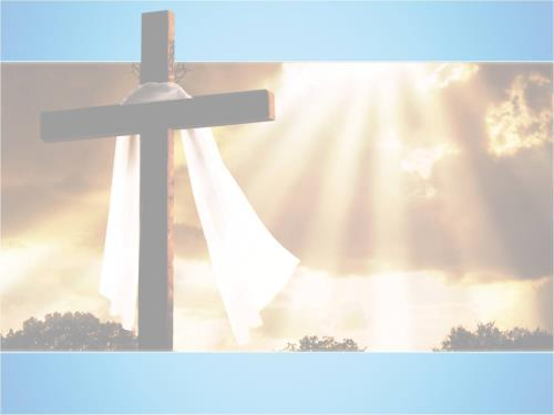 Easter: Experience the Hope PowerPoint Template 3