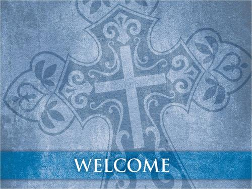 Cross Welcome PowerPoint Template 2