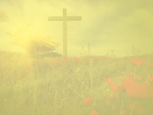 Church PowerPoint Template: Celebrate Easter Cross